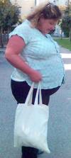 Schwangerschaft der dicke in frauen Frauen: Fettes