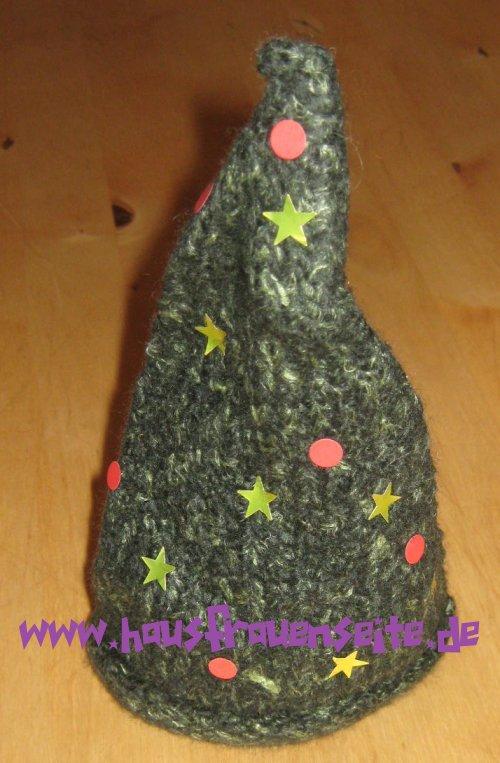 der gestrickfilzte Weihnachtsbaum - kostenlose Strickanleitung mit ...