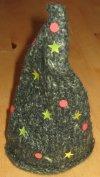 gestrickfilzter Weihnachtsbaum