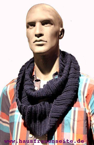 Loop Schal stricken für Ihn