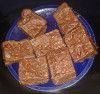 gefüllte Lebkuchen-Brownies