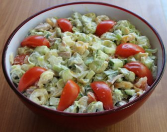 Corgias Tortellini Salat Partysalat Rezept Mit Bild