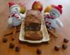 Weihnachtskuchen - Apfelkuchen mit Zimt und Haselnüssen