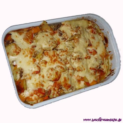 Rezept Kartoffel Hackfleisch hackfleisch kürbis kartoffel auflauf auflaufrezept mit bild