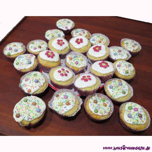 Muffins Fur Den Kindergeburtstag Geburtstagskuchenrezept Mit Bild