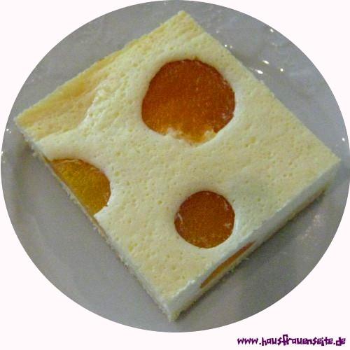 Aprikosen Kasekuchen Vom Blech Rezept Mit Bild