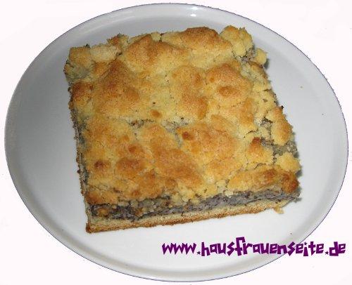 Mohn Streusel Kuchen Mit Eierlikor Rezept Mit Bild