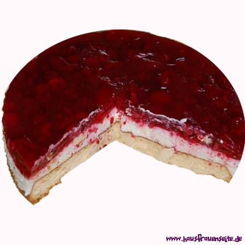 Himbeer Quark Sahne Torte Rezept Mit Bild