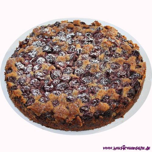 Kirsch Nuss Kuchen Kirschkuchenrezept Mit Bild