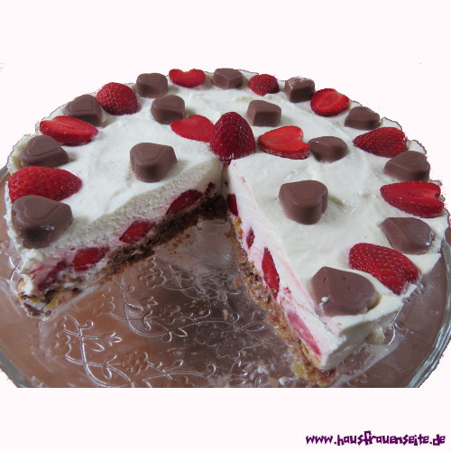 Erdbeer Schoko Torte Rezept Mit Bild
