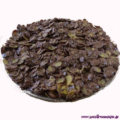 Tortenboden Ohne Backen Aus Cornflakes Rezept Mit Bild
