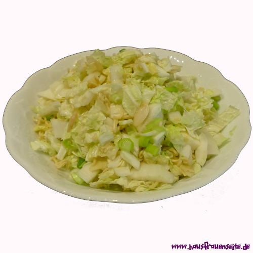 Asia Nudelsnack Salat Rezept