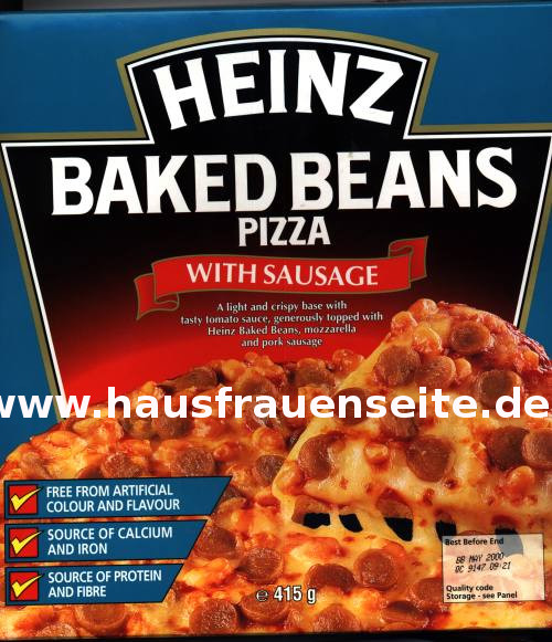 Baked Beans Pizza